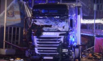 Tragiczne wydarzenia z bożonarodzeniowego jarmarku w Niemczech / Fot. Youtube