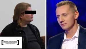 Po lewej Rafał Gaweł, po prawej Jacek Mięędlar