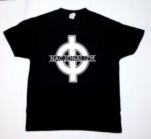 Koszulka z krzyżem celtyckim i napisem NACJONALIZM / wPrawo.pl