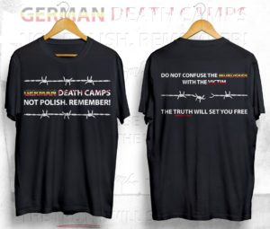 Koszulka German Death Camps / wPrawo.pl
