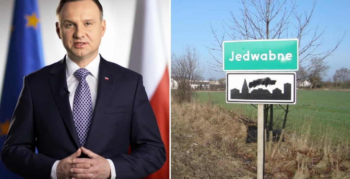 Czy Andrzej Duda doprowadzi do ekshumacji w Jedwabnem? / Fot. Youtube