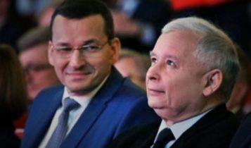Mateusz Morawiecki i Jarosław Kaczyński / Fot. Youtube