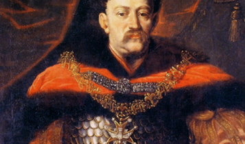 Jan III Sobieski ok. 1674 roku/portret Daniela Schultza