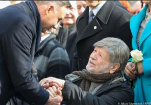 Prezydent Duda i Szewach Weiss/ fot. twitter
