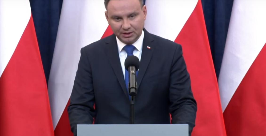Prezydent RP Andrzej Duda / Fot. Youtube