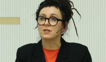 Olga Tokarczuk/ fot. youtube