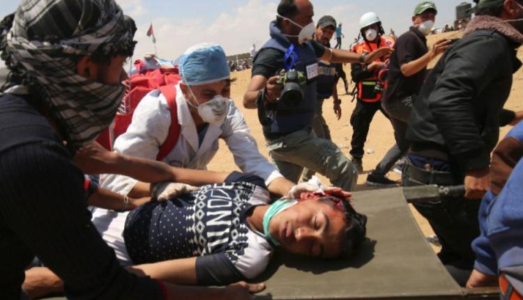 masakra w Gazie/ fot. twitter