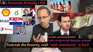 Baszszar al-Asad walczący z bestiami. Prawda o wojnie w Syrii | J. Międlar
