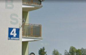 Ulica Metropolity Andrzeja Szeptyckiego w Iławie / Fot. Google Maps