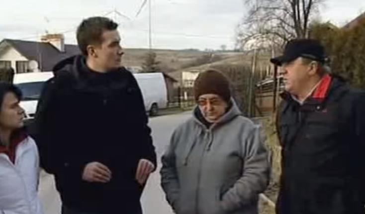 wiatraki w Orzechowcach/ fot. youtube