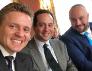 A. Pawluszek, M. Tyrmand i J. Daniels/ Fot. twitter