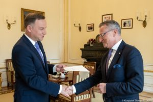 Andrzej Duda i Marek Magierowski / Fot. KPRM