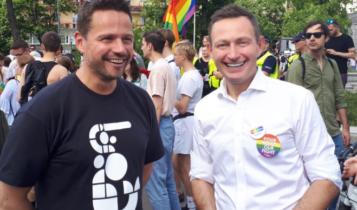 Rafał Trzaskowski i Paweł Rabiej/ fot. twitter