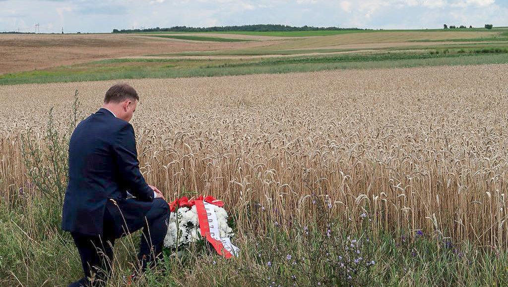 Andrzej Duda we wsi Pokuta / Fot. prezydent.pl