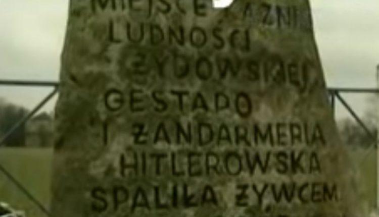 Niemiecka zbrodnia w Jedwabnem w 1941 / Fot. YouTube