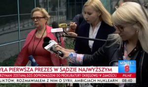 Małgorzata Gersdorf / Fot. TVP Info