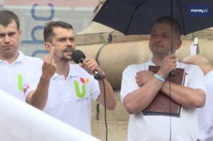 Michał Kołodziejczak z Unii Warzywno-Ziemniaczanej / Fot. YouTube