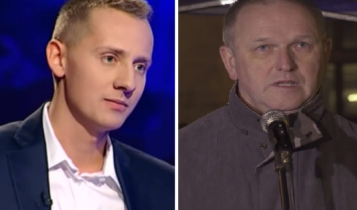 Od lewej Jacek Międlar i Wojciech Lemański