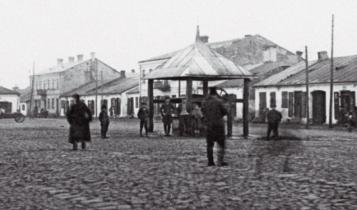 rynek w Przytyku 1929 r./ fot. mazowieckie.fotopolska.eu