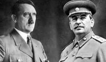 Adolf Hitler i Józef Stalin