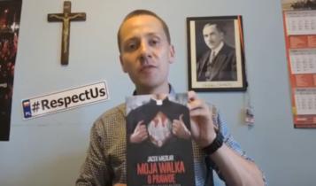 """Jacek Międlar """"Moja walka o prawdę""""/ fot. youtube"""