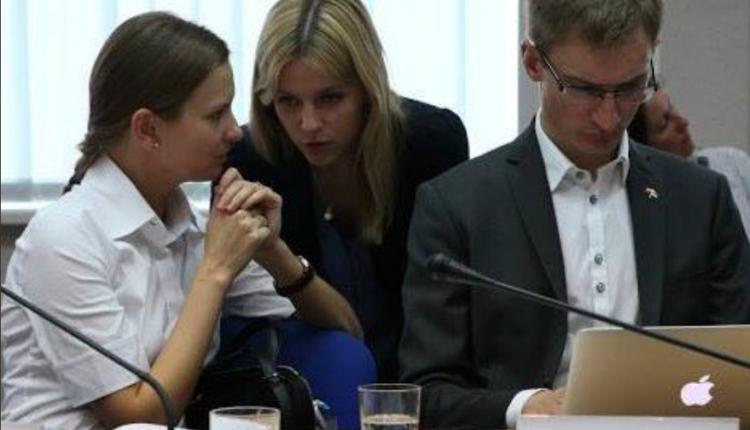 Kozłowska, Gajewska i Kramek/ fot. twitter