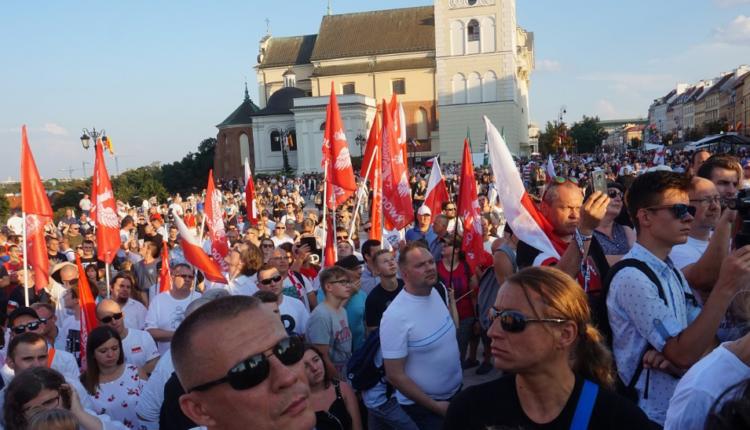 Marsz Powstania Warszawskiego/ fot. twitter