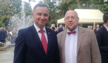 prezydent Andrzej Duda i Jarosław Papis/ fot. twitter