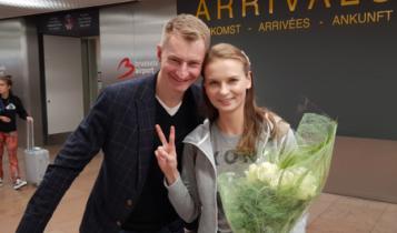 Kramek i Kozłowska w Brukseli/ fot. twitter