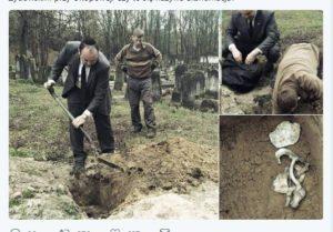 Jonny Daniels łamie polskie prawo, gdyż bez zgody polskich organów przeprowadza ekshumację. Tymczasem twierdzi, że ekshumacja w Jedwabnem nie może mieć miejsca