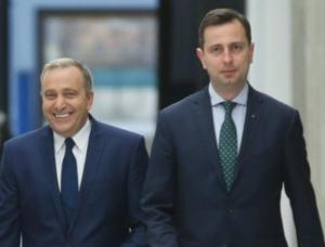 Grzegorz Schetyna i Władysław Kosiniak-Kamysz/ fot. twitter