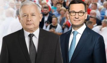 Jarosław Kaczyński i Mateusz Morawiecki/ fot. twitter
