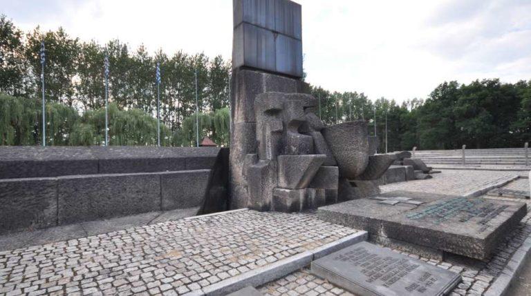 Międzynarodowy Pomnik Ofiar Obozu Auschwitz Birkenau / Fot. flickr