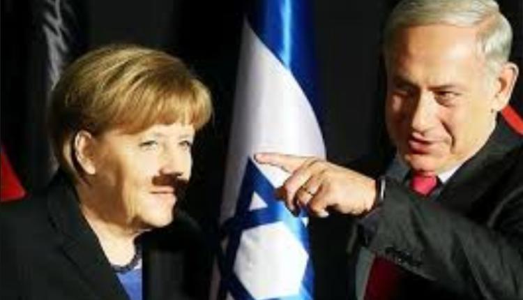 Angela Merkel i Benjamin Netanjahu/ fot. twitter