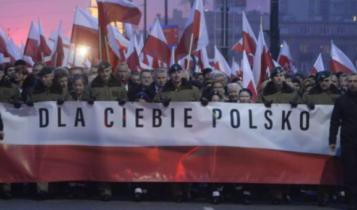 rządowy marsz w Warszawie 11 listopada 2018/ fot. twitter