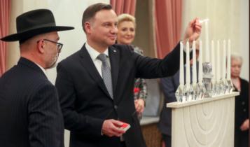 Chanuka w Pałacu Prezydenckim/ fot. prezydent.pl