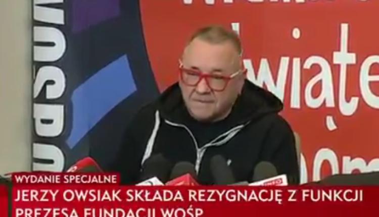 Jerzy Owsiak/ fot. screen