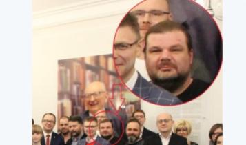 Rafał Gaweł na spotkaniu z RPO w 2018 roku/ fot. twitter