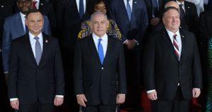 Andrzej Duda, Benjamin Netanjahu, Milke Pompeo / Fot. Twitter