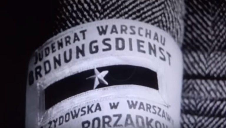 Opaska żydowskich kolaborantów Hitlera z Judenratów