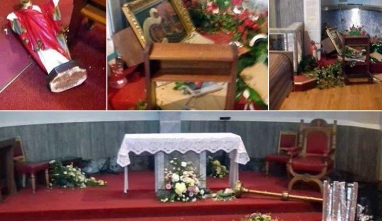 Sprofanowano kościół w Glasgow / Fot. Magna Polonia