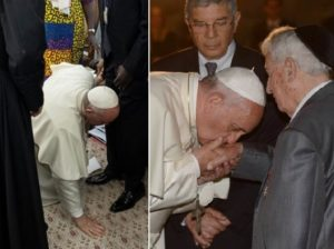 Papieskie pocałunki