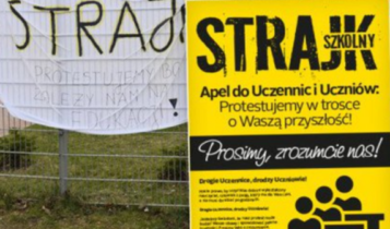 strajk nauczycieli/ fot. twitter
