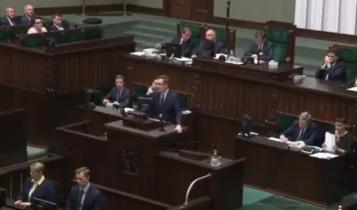 Sejm RP/ fot. screen