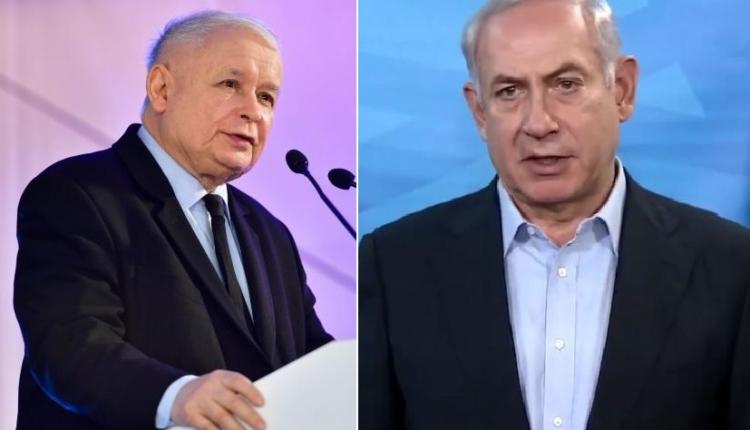 Jarosław Kaczyński/ Benjamin Netanjahu