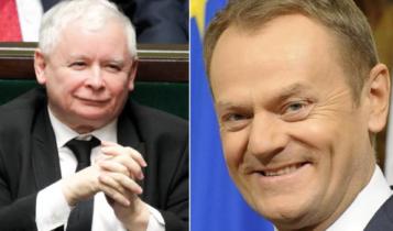 Jarosław Kaczyński/ Donald Tusk
