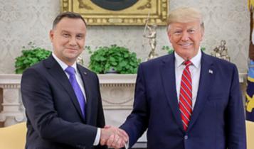 Andrzej Duda i Donald Trump/ fot. prezydent.pl