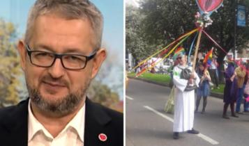 Rafał Ziemkiewicz/ parada LGBT w Gdańsku 2019