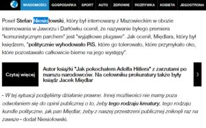 Niesiołowski wzywa do eksterminacji mojej osoby / Fot. Dziennik.pl