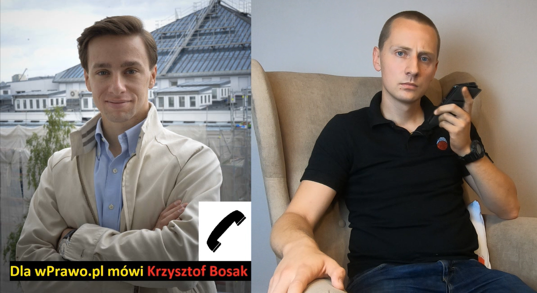 Krzysztof Bosak i Jacek Międlar